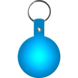 Personalized Circle Key Tags for Customization