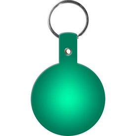 Personalized Circle Key Tags for Marketing