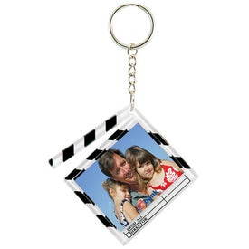 "Clapboard Snap-In Keytag (2.375"" x 2.125"")"