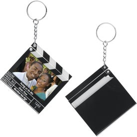 Clapboard Snap-In Keytags (2.5625