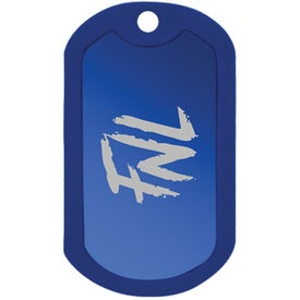 Monogrammed Classic Dog Tag