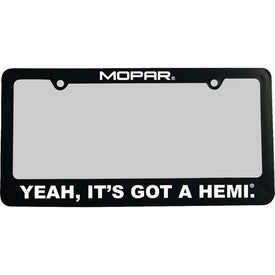 Classic License Frame - Recycled