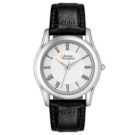 Classic Styles Silver Finish Men's Watch