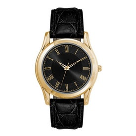 Classic Styles Gold Finish Men's Watch Giveaways