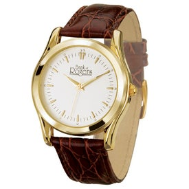 Classic Style Men's Gold Watch