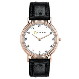 Rose Gold Classic Style's Mens Watch