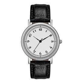 Classic Styles Mens Watch with Crocodile Leather Strap for Your Organization