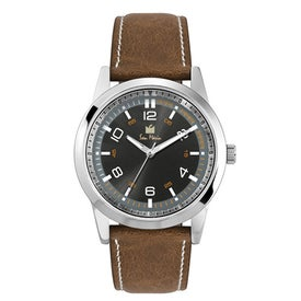 Classic Styles Natural Leather Strap Men's Watch