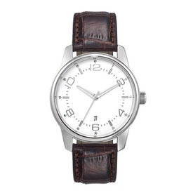 Customizable Classic Styles Unisex Watch Imprinted with Your Logo