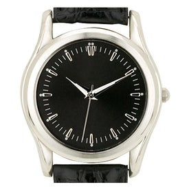 Silver Finish Classic Styles Men's Watches for Your Company