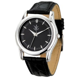 Silver Finish Classic Styles Men's Watches
