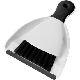 Imprinted Clean Up Brush and Dust Pan