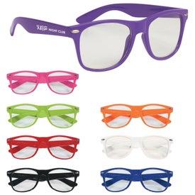Clear Lens Malibu Glasses for Customization