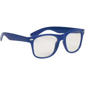Printed Clear Lens Malibu Glasses