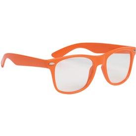 Advertising Clear Lens Malibu Glasses