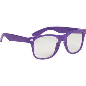 Clear Lens Malibu Glasses for Promotion