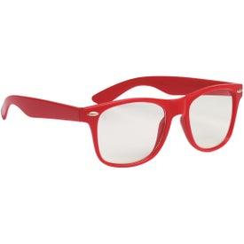 Custom Clear Lens Malibu Glasses