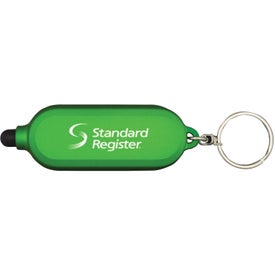 Company Clear Style Key Chain