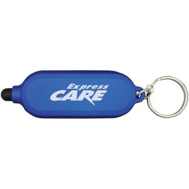 Clear Style Key Chain for Advertising