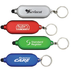 Clear Style Key Chain