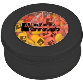 Advertising Clear-View Printed Candy Tin