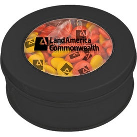 Logo Clear-View Printed Candy Tin