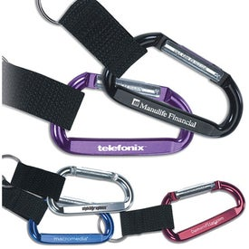 Clip And Go Carabiner Key Tag