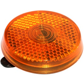 Branded Clip It On Reflector Safety Light
