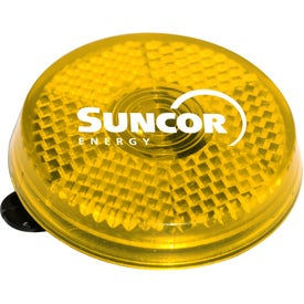 Imprinted Clip It On Reflector Safety Light