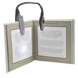 Monogrammed Clip on Book Light