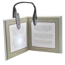 Monogrammed Clip on Book Light