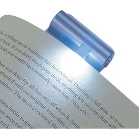 Clip On LED Book Light with Your Slogan