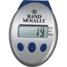 Branded Clip On Pedometer