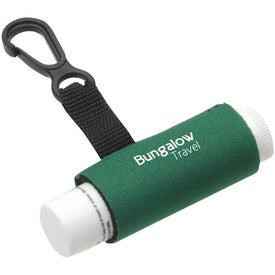 Branded Clip-It Lip Balm Holder