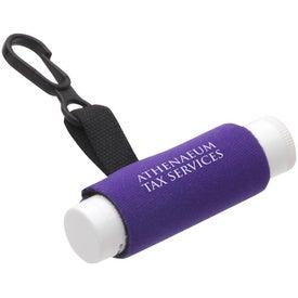 Personalized Clip-It Lip Balm Holder