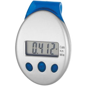 Clip-On Pedometer with Your Slogan