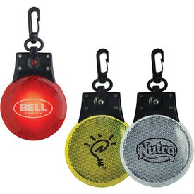 Clip On Safety Flasher with Your Logo