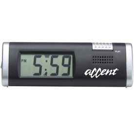Clock With Voice Recorder Giveaways