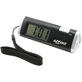 Clock With Voice Recorder