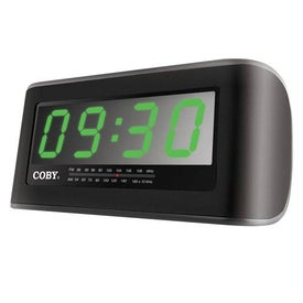 Coby Digital AM FM Jumbo Alarm Clock Radio