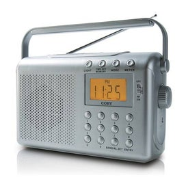 Coby Digital AM FM NOAA Radio with Dual Alarm