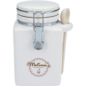 Branded Coffee Canister