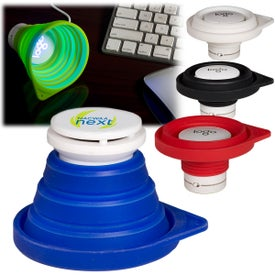 Collapsible Cone Bluetooth Speaker