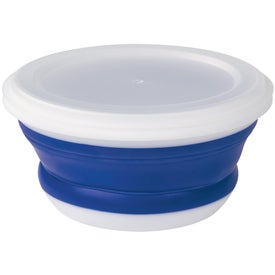 Collapsible Food Bowl Printed with Your Logo
