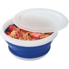 Advertising Collapsible Food Bowl