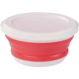 Monogrammed Collapsible Food Bowl