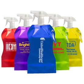Collapsible Trigger Sprayer Bottles (16.9 Oz.)
