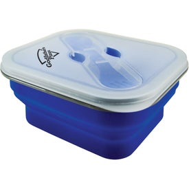 Collapsilunch Collapsible Lunch Container Branded with Your Logo