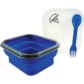 Branded Collapsilunch Collapsible Lunch Container