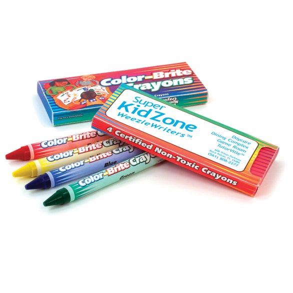 See Item Color-Brite Crayons